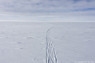 Le dernier Ilyushin a donc quitté l'Antarctique, laissant déserte la base de Union Glacier. Dans quelques jours, le vent forcira emportant nos dernières traces de ski laissées ci et là à travers le continent. Nous savions que ces traces seraient éphémères, mais d'autres, nous l'espérons, viendront à nouveau arpenter bientôt ce désert de glace. Entre temps, la nuit permanente enveloppera ce continent, le rendant encore plus hostile, inhospitalier, et rude. Même si nous sommes, seuls, bien peu de choses face à l'immensité de l'Antarctique, ce continent a besoin de toute notre attention et notre protection.