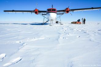14 novembre - c'est parti ! Nous avons 76 jours devant nous pour atteindre notre objectif, et plus de 2.000 km à parcourir en ski pour y parvenir.