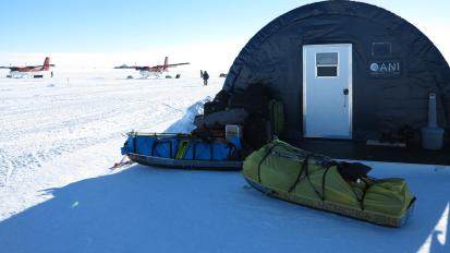 J-1 (still) From Punta Arenas to UnionGlacier