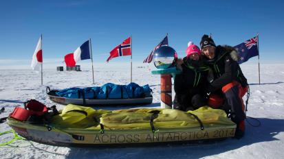 J41 – Jour de repos au pôleSud