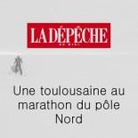 LDM - Une toulousaine au marathon du pôle nord