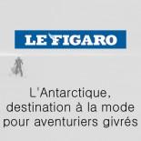 Le Figaro - L'Antarctique, destination à la mode pour aventurirers givrés
