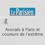 Le Parisien - Avocats à Paris et coureurs de l'extrême