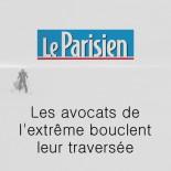 Le Parisien - Les avocats de l'extrême bouclent leur traversée