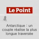 Le Point - un couple réalise la plus longue traversée
