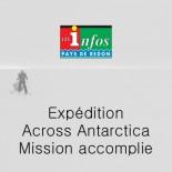 Les Infos Redon - Across Antarctica mission accomplie