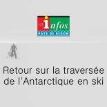 Les Infos Redon - Retour sur la traversée de l'Antarctique en ski
