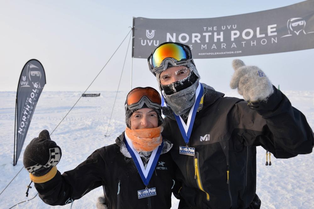 Marathon du Pôle Nord (avril 2013)
