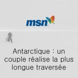 MSN - un couple réalise la plus longue traversée