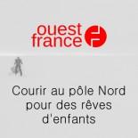 Ouest France - Courir au pôle Nord pourdes rêves d'enfants