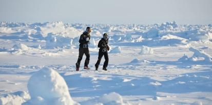42,195 kms autour du pôleNord