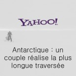 Yahoo - un couple réalise la plus longue traversée