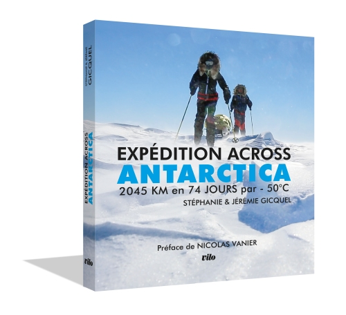 Couverture Livre EXPEDITION ACROSS ANTARCTICA